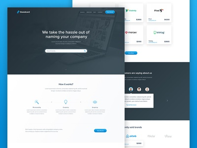 BrandCord Landing Page