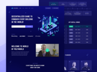 Polyworld ICO Landing Page