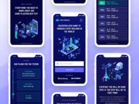 Polyworld Landing Page Mobile