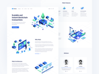 Matic Network Landing Page