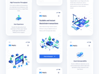 Matic Network Landing Page Mobile
