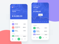 Banking App - Home & Insights