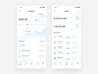 8PAY | iOS App application dashboard banking ios app blockchain protocol integration charts graphs create subscription cryptocurrency wallet crypto payment platform digital currencies transactions payment app product design revolut stripe gumroad virtual currency