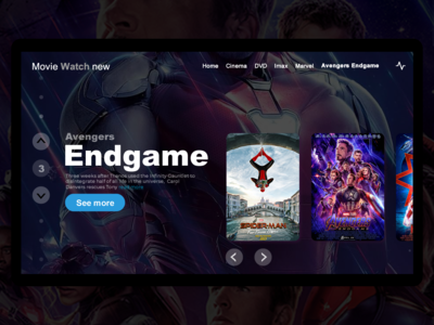 Movie Watch New Endgame Poster
