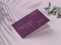 """SIMONA Makeup Artist"" - logo and branding"