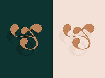 "My personal letter ""r"" monogram lettermark perosnal logo calligraphy lettering letter curved letter single letter monogram monogram adobe illustrator graphic design logotype logo visual identity branding"