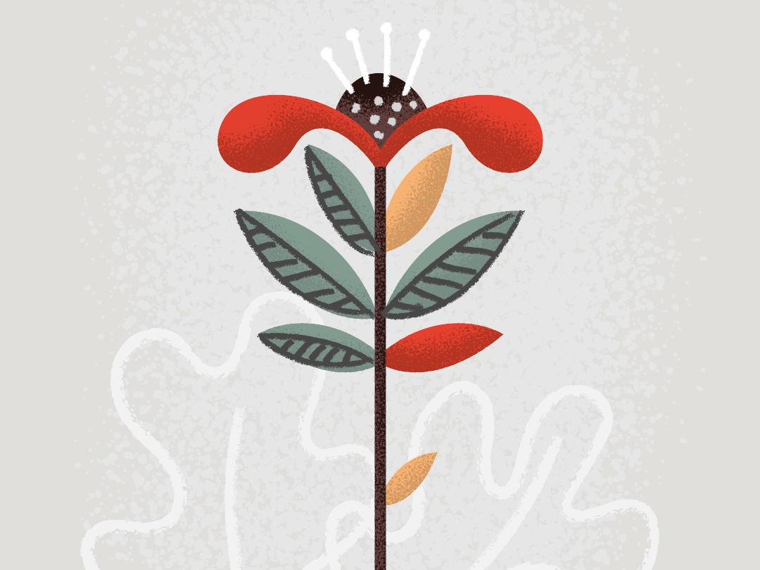 Flowa Powa vector nature illustration design illustrator