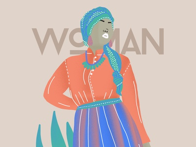 Woman colors art direction typography woman illustration woman nature artdigital drawing 2019 artwork graphicdesigner graphicdesign creative illustration design