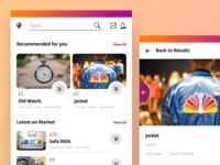 Mobile Marketplace App