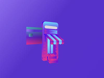 E-commerce illustration illustration art illustration e-comerce online shopping online shop ecommerce vector illustration vector