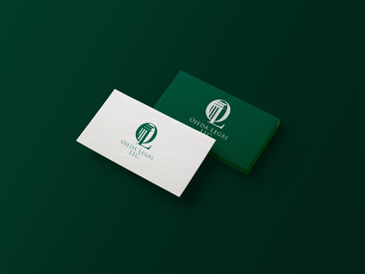 Law office logo business card branding logo green consulting lawyer logo lawyer law advocacy llc