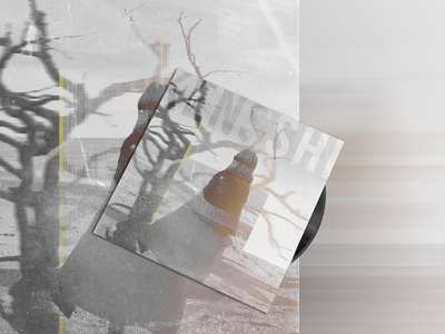 Seed Oil Black new album Kensshi music cover vinyl cover melancholy music cover design cover art blues