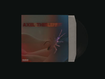 AXEL THESLEFF VINYL COVER cover design ambient music vinyl record vinyl cover