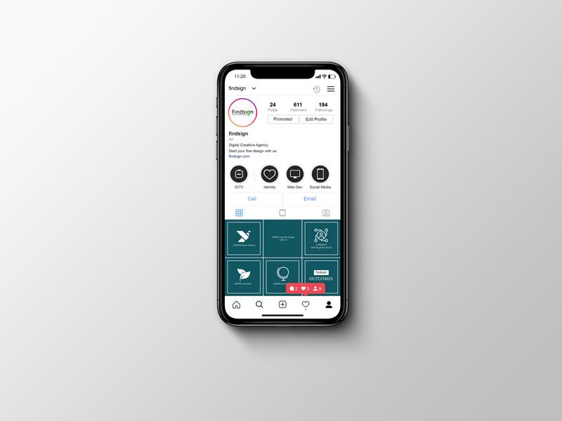 Social Media Planner Mockup
