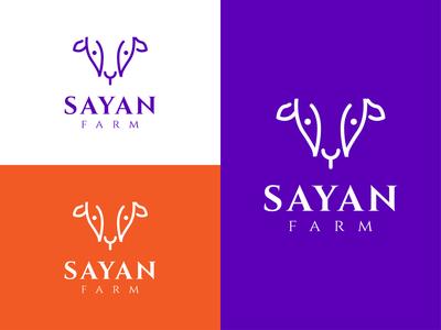 Sayan Farm Logo logos brandidentity logotype logoinspiration logodesigns designer art logodesigner graphicdesign logo design logo branding vector design illustration branding brand logo