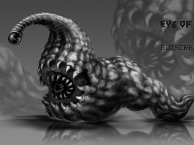 The Monster for the Game character design game art monster