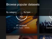 Browse popular datasets