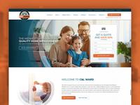 C&L Ward design home improvement wordpress design wordpress web design website design website