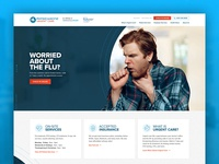PhysicianOne Urgent Care medical design medical urgent care design wordpress design wordpress web design website design website