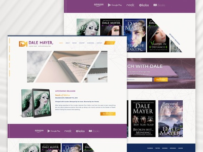 Dale Mayer wordpress design wordpress website development website design website web design romance author genesiswp genesis author website author