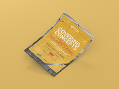 Covering Concepts E-mailer Invitation opening newsletter branding design digital