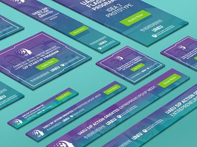I2P Google Ad Banners program startup entrepreneur google ad banner google creative design digital