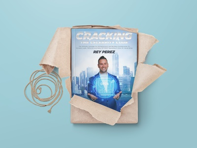 Cracking the Celebrity Code softcover illustration manipulation book design cover