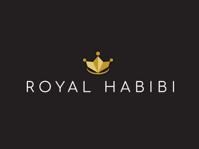 Royal Habibi design concept branding logo