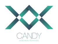 Candy AV Logo Concept