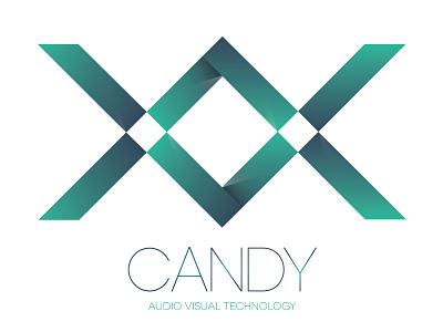 Candy AV Logo Concept logo concept