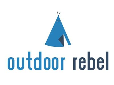 Outdoor Rebel Logo Concept logo concept