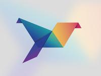 Origami Logo Concept