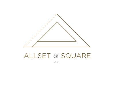 Allset & Square branding logo geometric