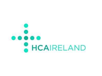 HCAIreland Logo pharma nursing healthcare branding logo