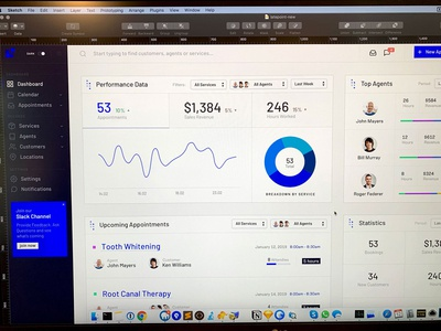 Appointment Scheduling Dashboard