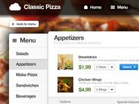 Online Food Ordering Service