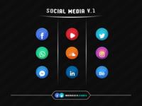 Social Media Icons V.1