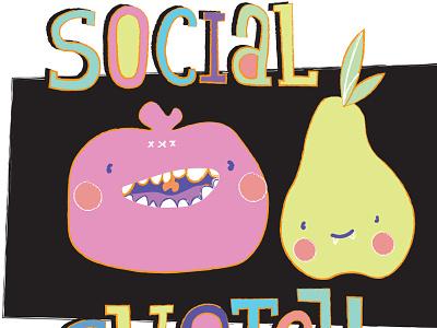 Spokane Social Sketch sketch poster illustration