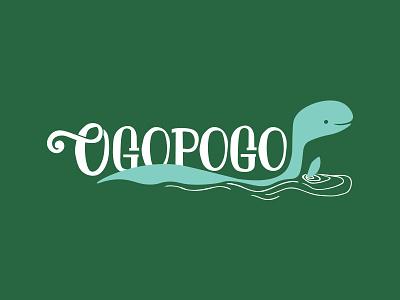Ogopogo lettering logo ogopogo loch ness sailboat boat name