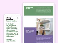 Sharp Corners Website