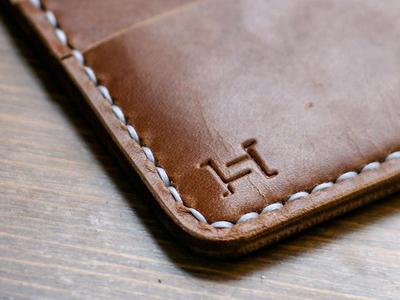 Hides & Stitches Mark brand design identity design logo branding