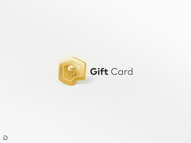 Gift Coin! gold coin website rounded corner persian logo deisgn logo khooger illustration gift cards gift card giftcard gift furniture design card mockup