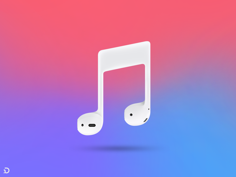 Music Pod vector music applemusic color note apple music apple illustration persian