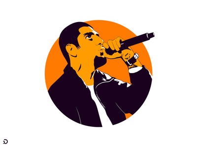 Kings Never Die v.2 iran face character microphone illustration persian