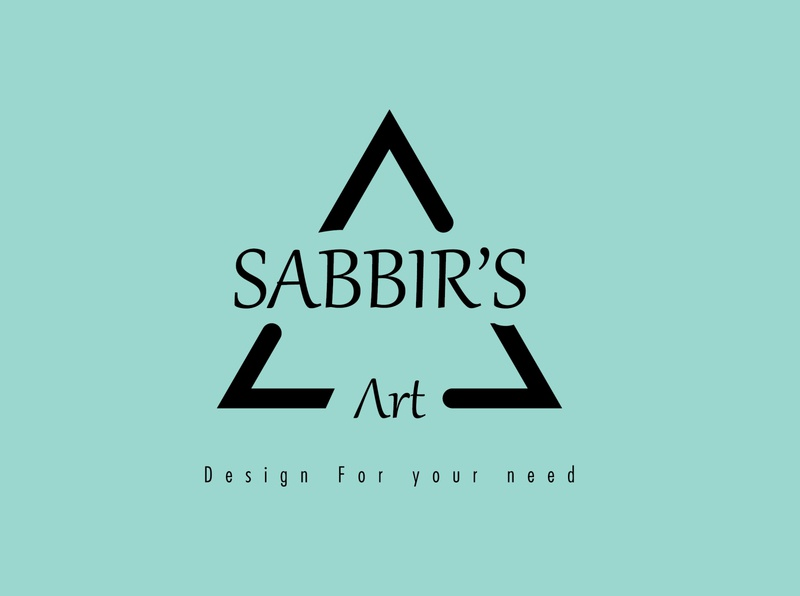 Sabbir's Art Logo Design book cover design vector branding design business card logo