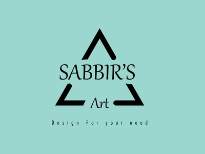 Sabbir's Art Logo Design book cover design vector branding design business card logo