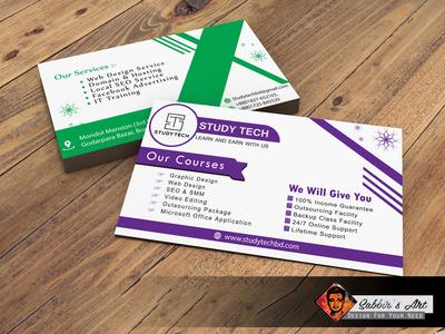 Business Card Design by Sabbirs Art