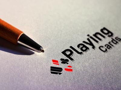 Playing cards Logo design