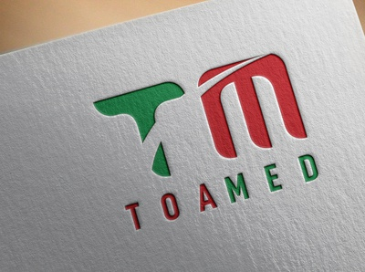 TOAMED Logo Design