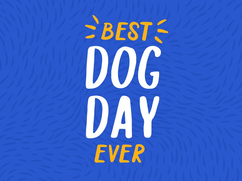 Best Dog Day Ever by Liana Cervantes | Dribbble | Dribbble